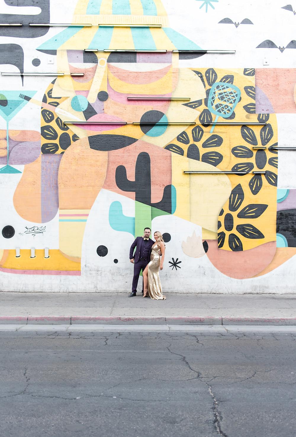las vegas wedding, vegas bride, vegas bride and groom, vegas, las vegas, neon museum, neon boneyard, neon museum wedding, vintage, neon, vintage wedding, glam wedding, las vegas portraits, wedding, elopement, elope, vegas elopement
