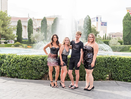 30th birthday with best friends on the Las Vegas Strip | Las Vegas, Nv