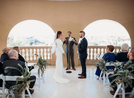 Chris + Kirsten | JW Marriott Las Vegas Wedding | Las Vegas Weddings