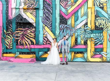 Marie + Josh | Little White Wedding Chapel Ceremony + MGM Skyline Terrace Reception | Las Vegas, Nv
