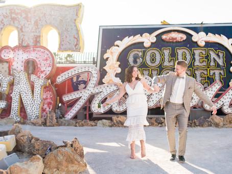 Artur and Natalia |Neon Museum Elopement | Downtown Las Vegas