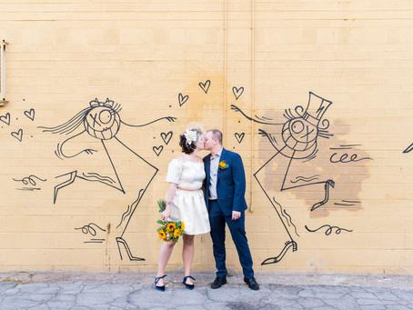 Beverly & Charlie | Tunnel of Love Wedding | Las Vegas, Nevada