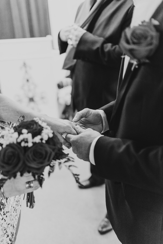 las vegas chapel, las vegas wedding, las vegas elopement, las vegas photographer, bride and groom, elvis, downtown las vegas, vegas wedding photographer, chapel wedding, elopement, we eloped, sequin dress, glam wedding, elvis wedding, wedding portraits