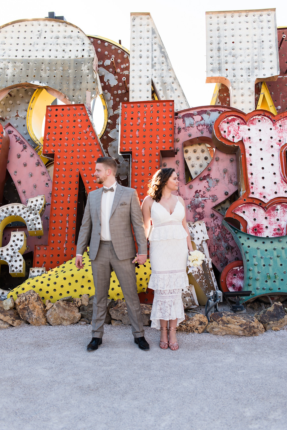 las vegas, las vegas elopement, neon museum, downtown vegas, downtown las vegas, downtown photography, neon boneyard, vintage vegas, vegas photographer, elope, vegas, wedding, wedding photographer, vegas photography, vegas photography, bride and groom, wedding portraits, wedding inspiration, weddings that rock