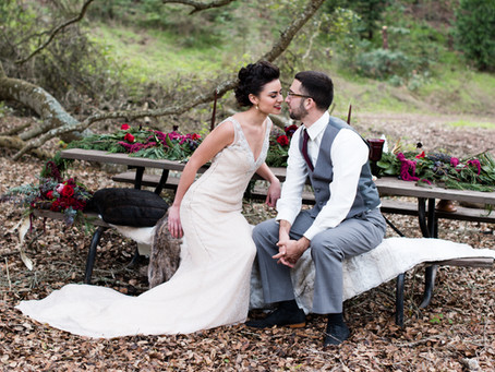 Glamorous Winter Elopement in Monterey County, California