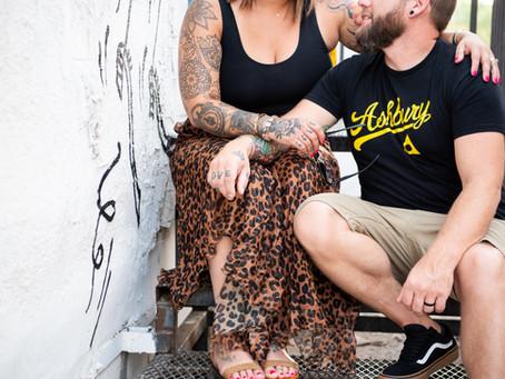 Alli + Marty | Downtown Las Vegas Couples Photo Session | Las Vegas Photographer