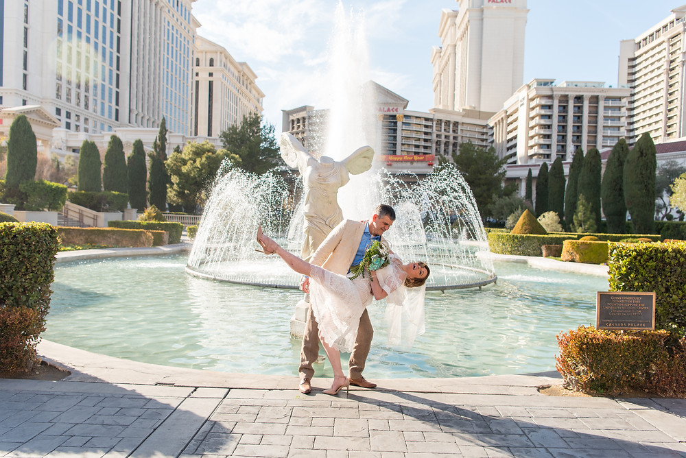 las vegas bride and groom, vegas wedding, vegas elopement, vegas couple, vegas bride, vegas groom, getting married, caesers palace, las vegas strip, las vegas elopement, vegas photographer, bridal portraits, vegas ceremony, vegas strip