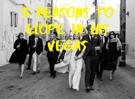 5 Reasons to Elope in Las Vegas |Carrie Pollard Photography | Las Vegas Weddings