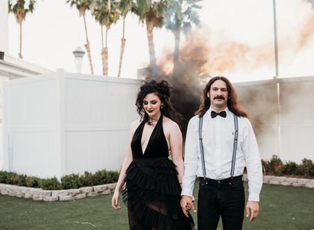 Beetlejuice Inspired Wedding | Styled Wedding | Las Vegas, Nevada