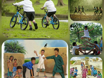 If outdoor games/activities be thy gateway to fun & fitness, play on…!