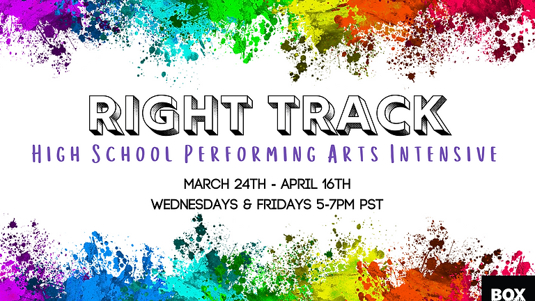 Right Track High School Performing Arts Intensive
