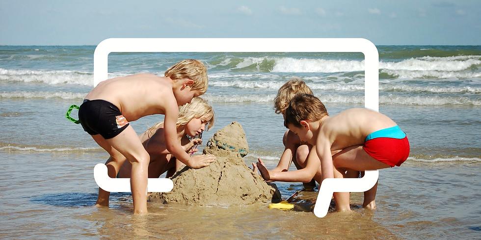 (VOLZET) Kamp: Naar zee met vzw totaal (7 - 14 jarigen)