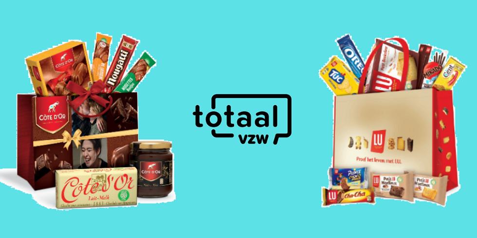 Koop heerlijke chocolade en steun de kampen van vzw totaal!