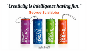 Creativity is intelligence having fun. - George Scialabba
