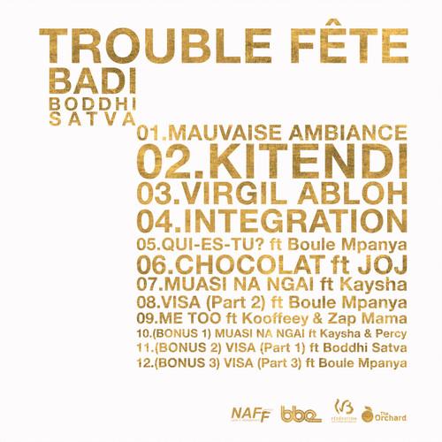 BADI TROUBLE FÊTE Backcover