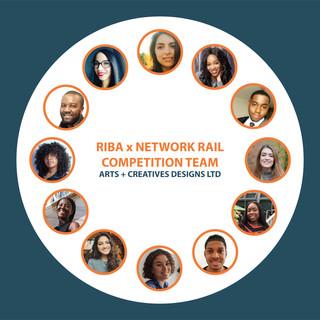 RIBA x Network rail competition team