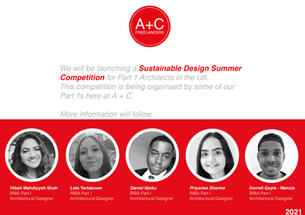 Sustainable Design Summer Competition 2021