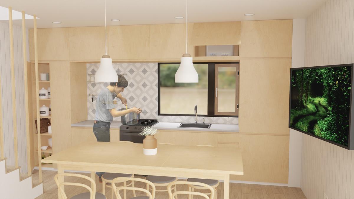 Escena 01 (cocina)