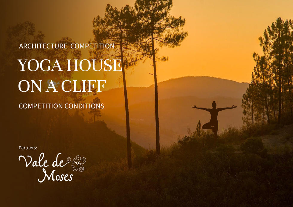 Yoga House On a Cliff