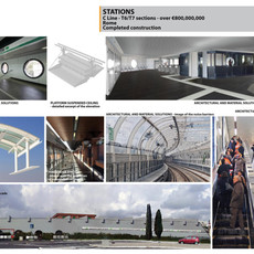 Stations (Roma, Italy) - Project Cost Ov