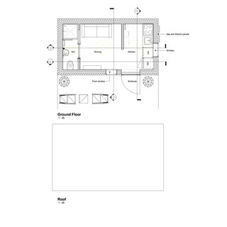 Proposed Floor & Roof Plan