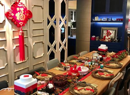   課程   東洋風年節花圈 Oriental & Lunar New Year Style Wreath - Workshop Snapshots
