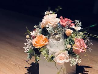 |花禮|開幕誌慶客訂盆花 Preserved Pot Flower for Grand Opening