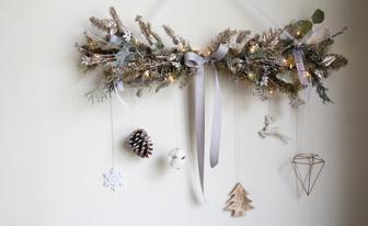   家飾   銀灰雪白耶誕掛飾 Silver and White Christmas Hanging Decor