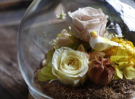 | 花禮 | 玻璃球裡的小花園 TheGarden in Crystal Ball