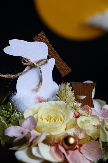 玉兔搗藥慶中秋 Moon Bunny Making Elixir of Life