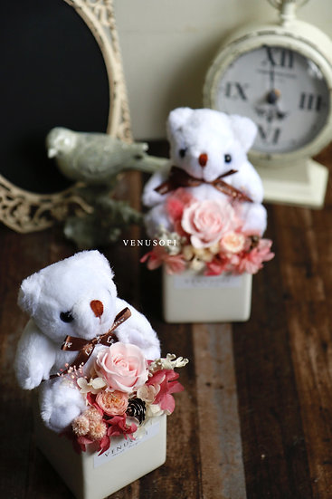 「熊」愛你・守護你-屬於春天的櫻粉色 Cherry Blossom Pink