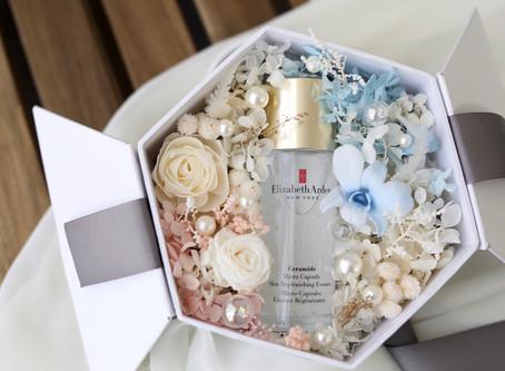 | 品牌合作 |  伊麗莎白雅頓-時空還原再生露永恆花禮盒 Preserved Floral Box of Elizabeth Arden