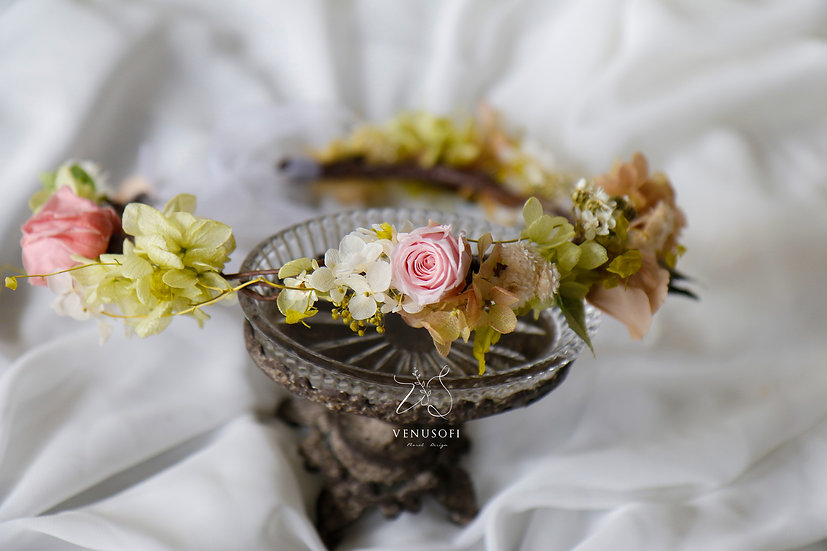 森林裡的仙子永恆花冠 | Fairy in Forest Flower Crown