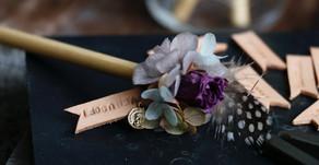 | 實用小物 | 永恆小花傳情鉛筆 Preserved Flower Message Pencil