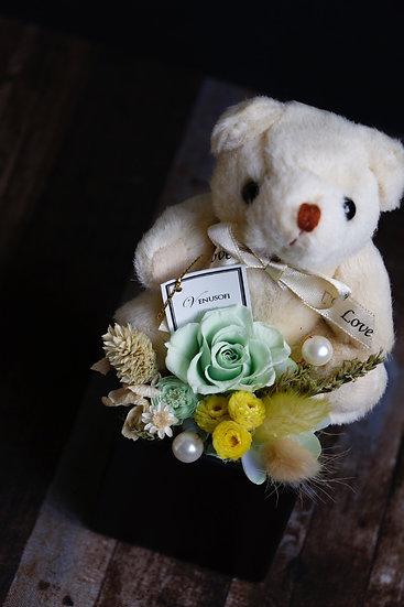 「熊」愛你・守護你 / 綠