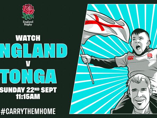 England vs Tonga
