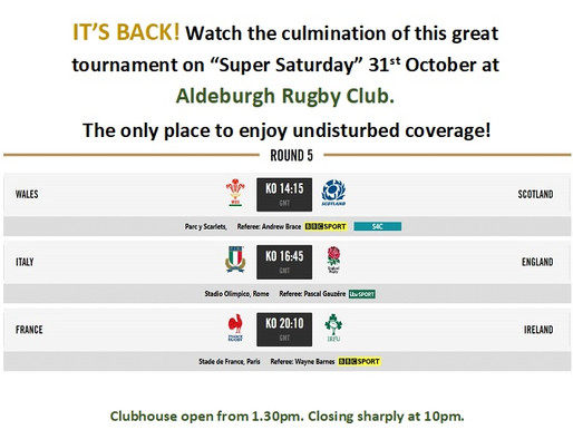 The Six Nations is Back!