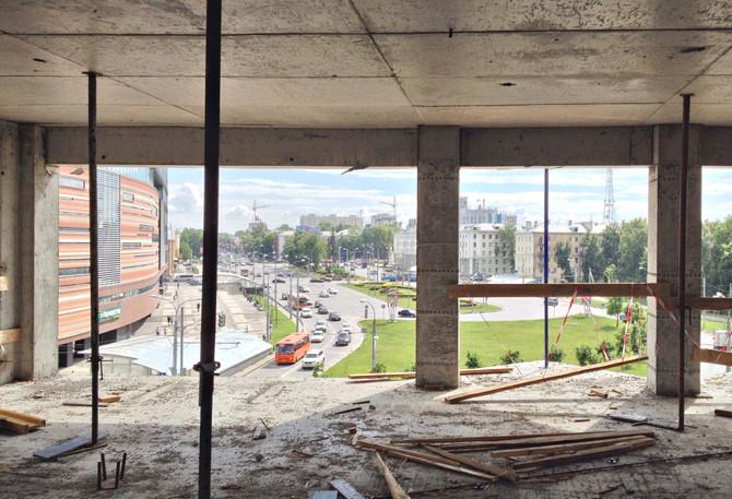 Строительство дома на ул. Крупской идет полным ходом!