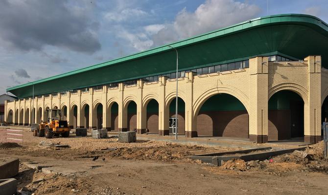 Первая очередь реконструкции Канавинского рынка, Нижний Новгород