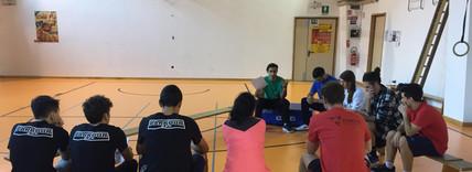 Momento durante il corso di formazione