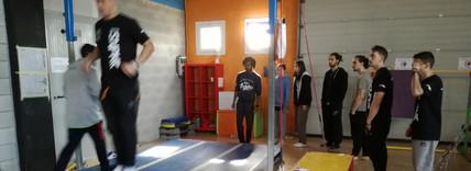 preparazione acrobaticca