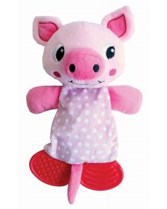 Happypet Little Rascals Play Teether Pig
