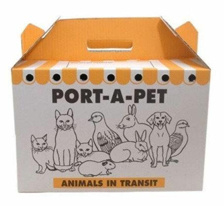 Port-a-Pet Cardboard Carrier