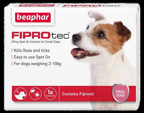 Beaphar FIPROtec® Flea Spot on Solution for Small Dogs