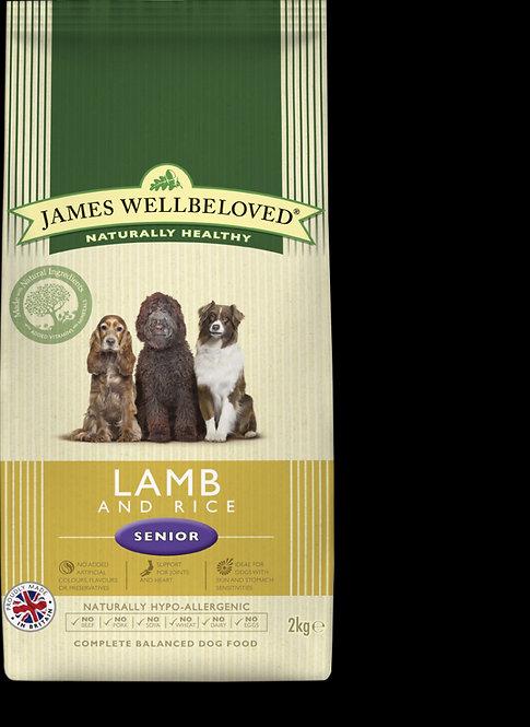 James Wellbeloved Senior Lamb & Rice