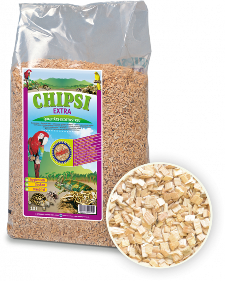 Chipsi Extra Beechwood Woodchip Medium 10L / 2.8kg
