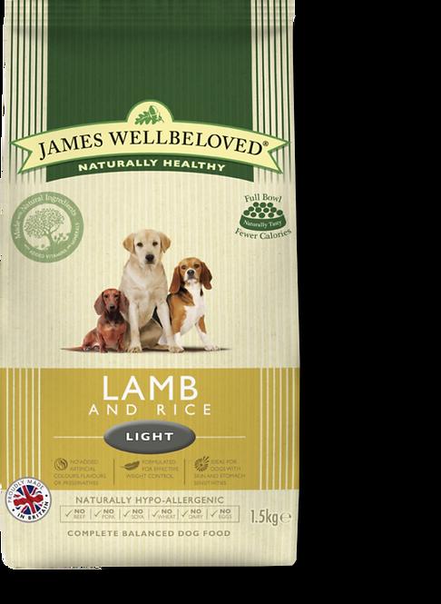James Wellbeloved Light Lamb & Rice 1.5kg