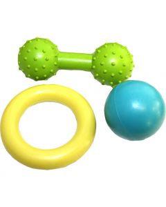 Happypet Little Rascals Rubber Multi Pack 3pcs