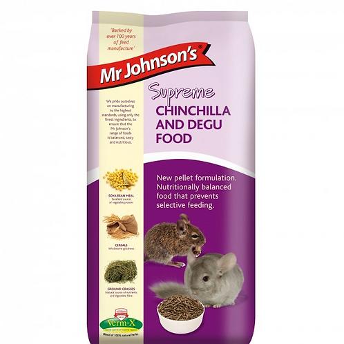 Mr Johnson's Supreme CHINCHILLA & DEGU FOOD 900g