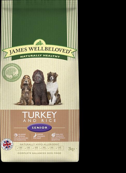 James Wellbeloved Senior Turkey & Rice